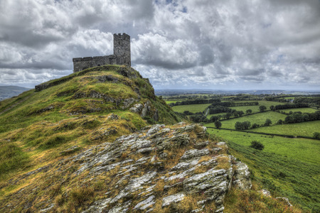 The church of St. Michael de Rupe, Brentor, Dartmoor photo