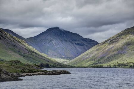gable: Great Gable at the head of Wastwater