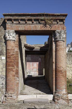 portal: House of the Great Portal at Herculaneum