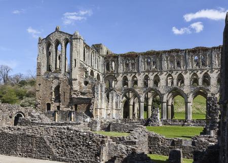 north yorkshire: Rievaulx Abbey, near Helmsley, North Yorkshire Stock Photo