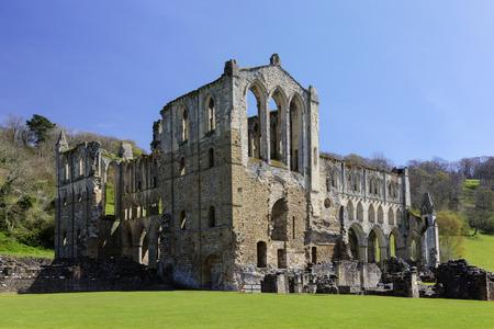 abbeys: Rievaulx Abbey, near Helmsley, North Yorkshire Stock Photo