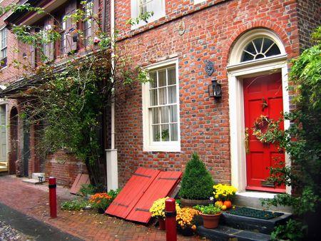 Old Brick Homes Stock Photo - 561974