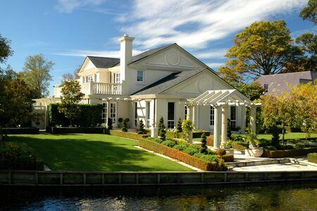 Luxury House Near Water Stock Photo - 568036
