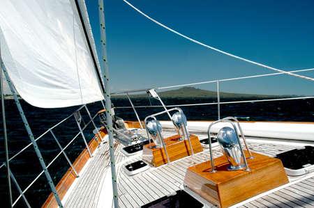 Luxury Sailing Yacht Stock Photo - 728976