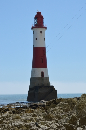Beachy Head Lighthouse Near Eastbourne, East Sussex, UK photo