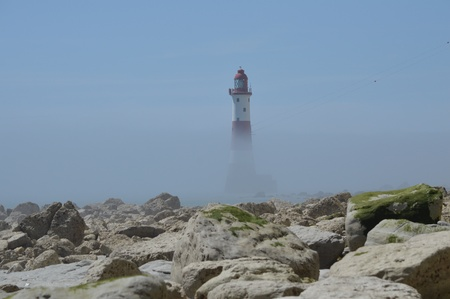 Beachy Head Lighthouse Near Eastbourne, East Sussex, UK photo