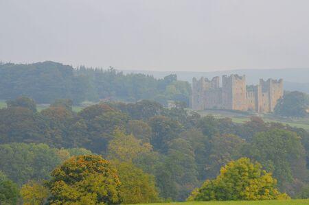 wensleydale: Bolton Castle Wensleydale Yorkshire Editorial
