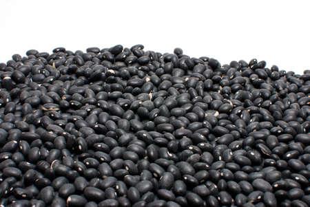 turtle bean: Many black turtle beans