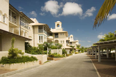 luxury apartments in Barbados Stock Photo - 491111