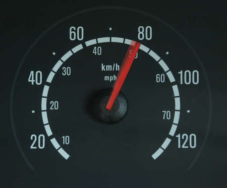 a speedometer showing movement Stock Photo - 862871