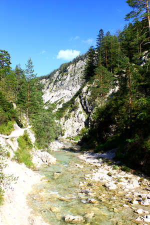 The spectacular Ötschergraeben canyon in austria is worth a visit / Wonderful place for hiking