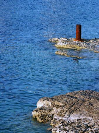 rabbet: Shoreline in the summer sun