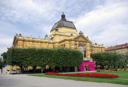 archtecture: Classic architecture in Zagreb, Croatia, Europe
