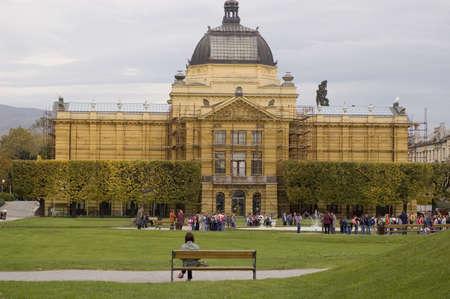 pavillion: Art pavillion in Zagreb, croatian capitol city