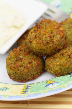Falafel, close up Stock Photo - 27232561