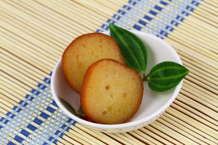 gulab: Gulab jamun dessert, closeup Stock Photo