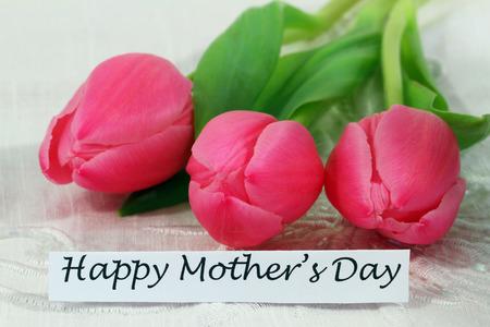 three wishes: Happy Mother\ Stock Photo