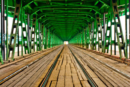 Warsaw bridge photo