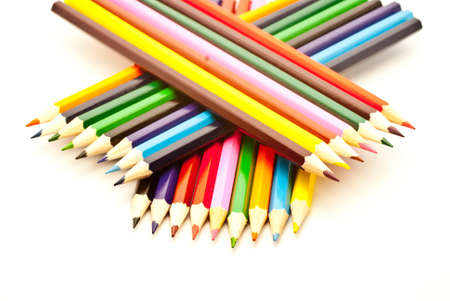 crayons, colored pencils photo