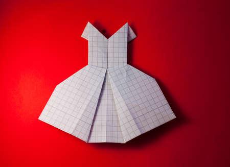 origami dress photo
