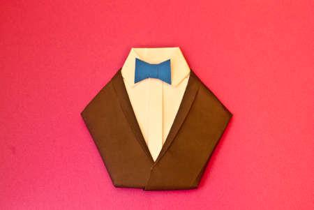 semi dress: Origami suit