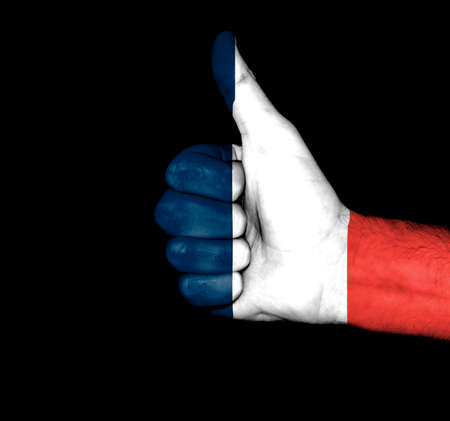 French Flag Fist photo