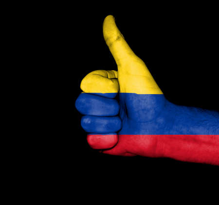 colombia flag: Colombian Flag Fist