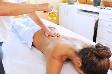 bracing: Relaxing massage