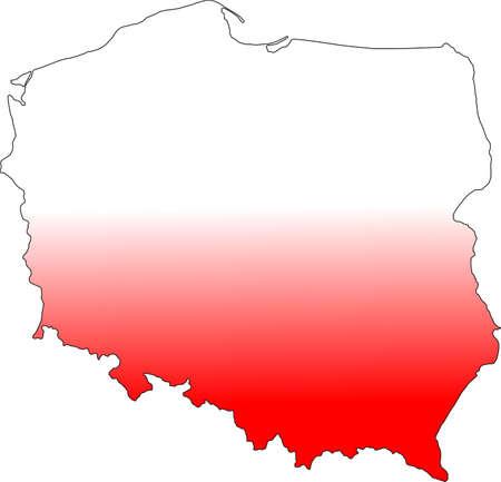 Poland Maps Illustration