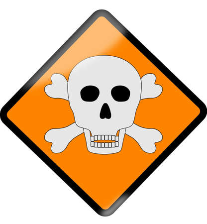 Danger sign Stock Vector - 9715730
