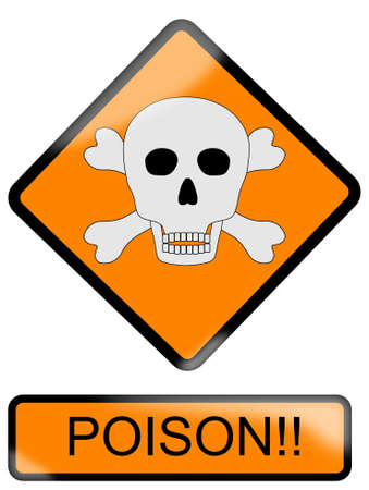Poison sign Stock Vector - 9715728