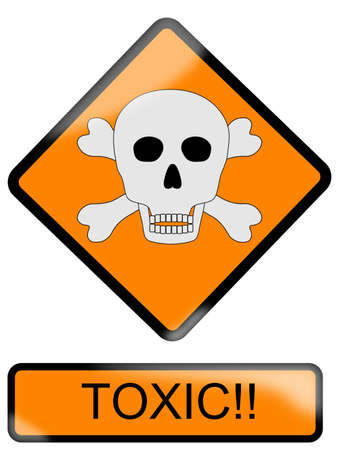Toxic sign Stock Vector - 9715729