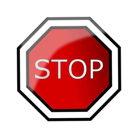 Stpo sign Stock Vector - 12375738