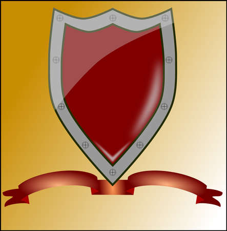 LOgo shield Illustration