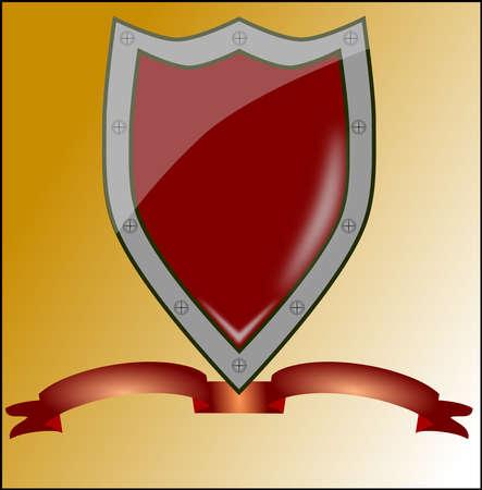 LOgo shield Illustration