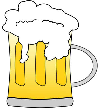 Mug beer Stock Vector - 12882843