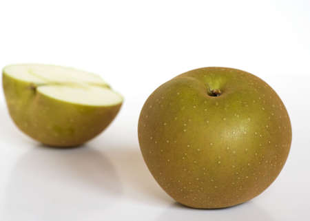 Golden Russet Apples Stock Photo