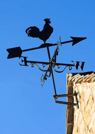 Weather Vane Stock Photo