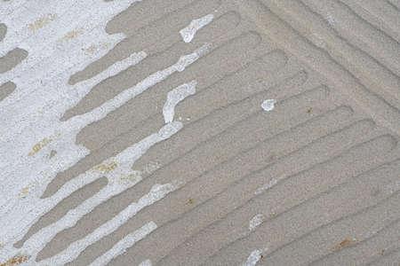 pavimento gres: Pavimento di piastrelle di invertire