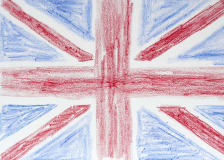 Drawing of British Flag