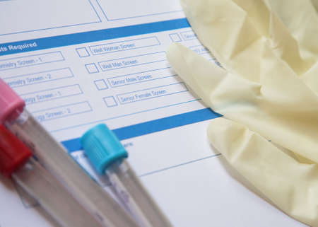 phlebotomy: Preparation for a blood test
