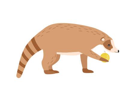 Illustration of an animal nosoha. Nosu character.