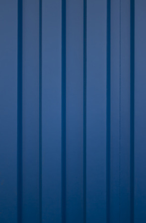 cargo container: Blue cargo container texture  Side panel of corrugated blue cargo container