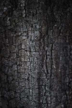 Fond grunge brûlé Photo composite de bois brûlé et des textures de béton