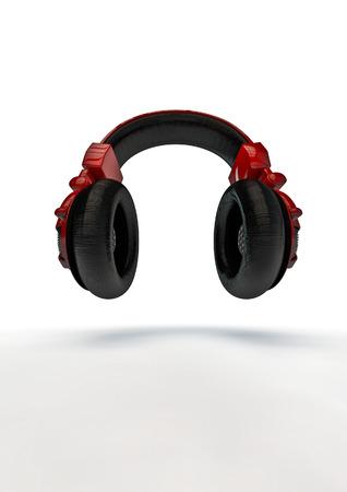 decibel: Headphones  3D render of headphones