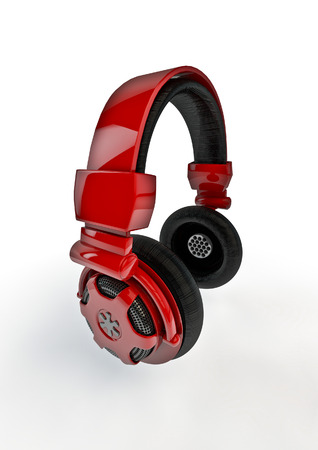 loudness: Headphones  3D render of headphones