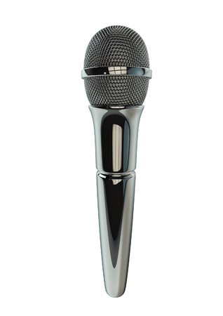 remix: Microphone singer  3D render of microphone