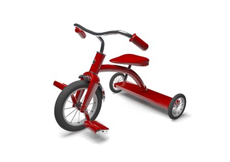 Tricycle  3D render of tricycle