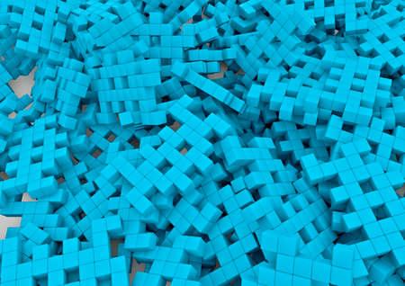 invaders: Space invaders fondo 3D de invasores del espacio pixelados