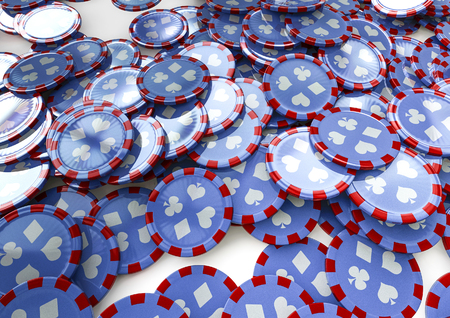 poker chip: Poker chip background  3D render of poker chips